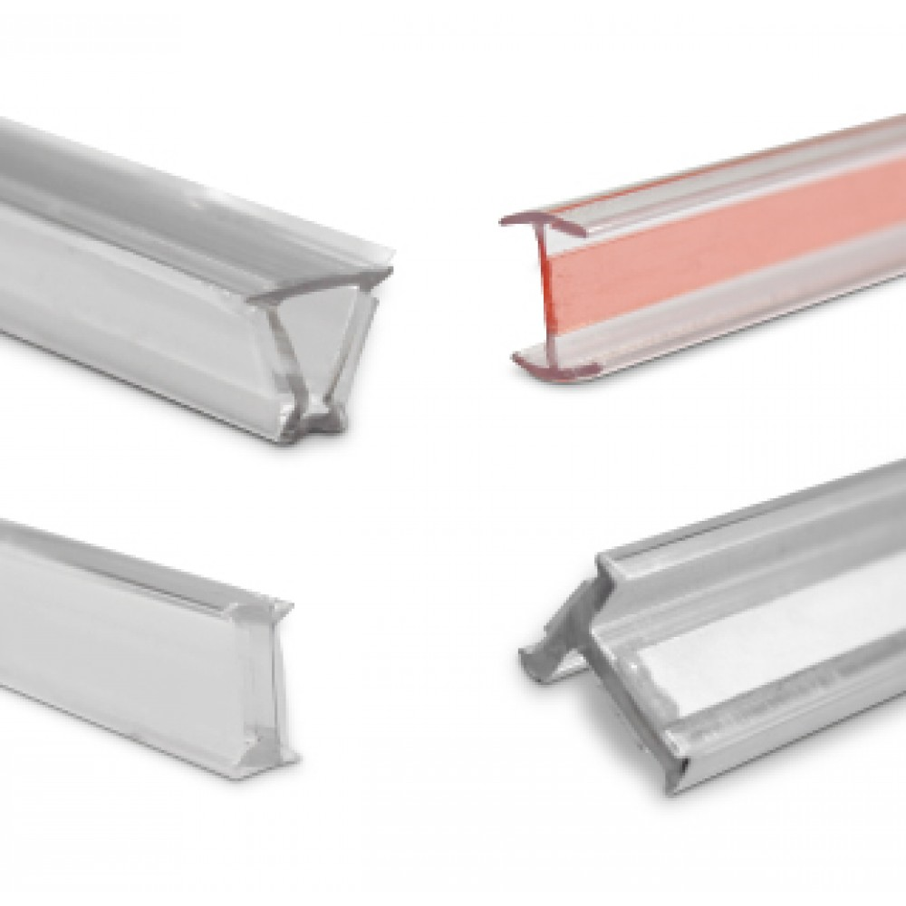 Glass Partition Glass To Glass PVC Joiners