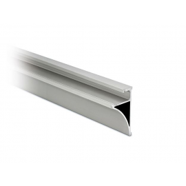 Glass Shelf Profile - 10mm or 8mm Glass - Anodised Aluminium