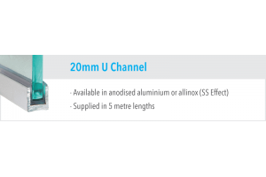 20mm U Channel