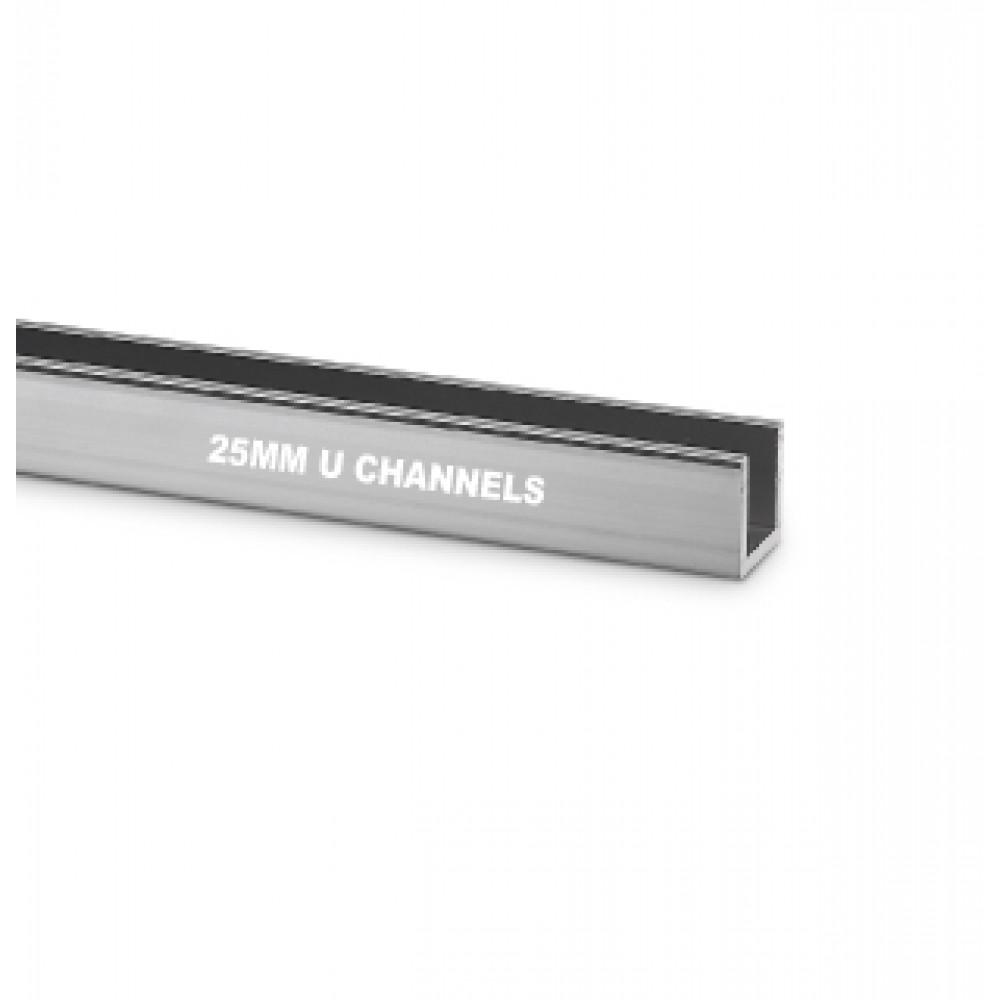 25mm U Channel