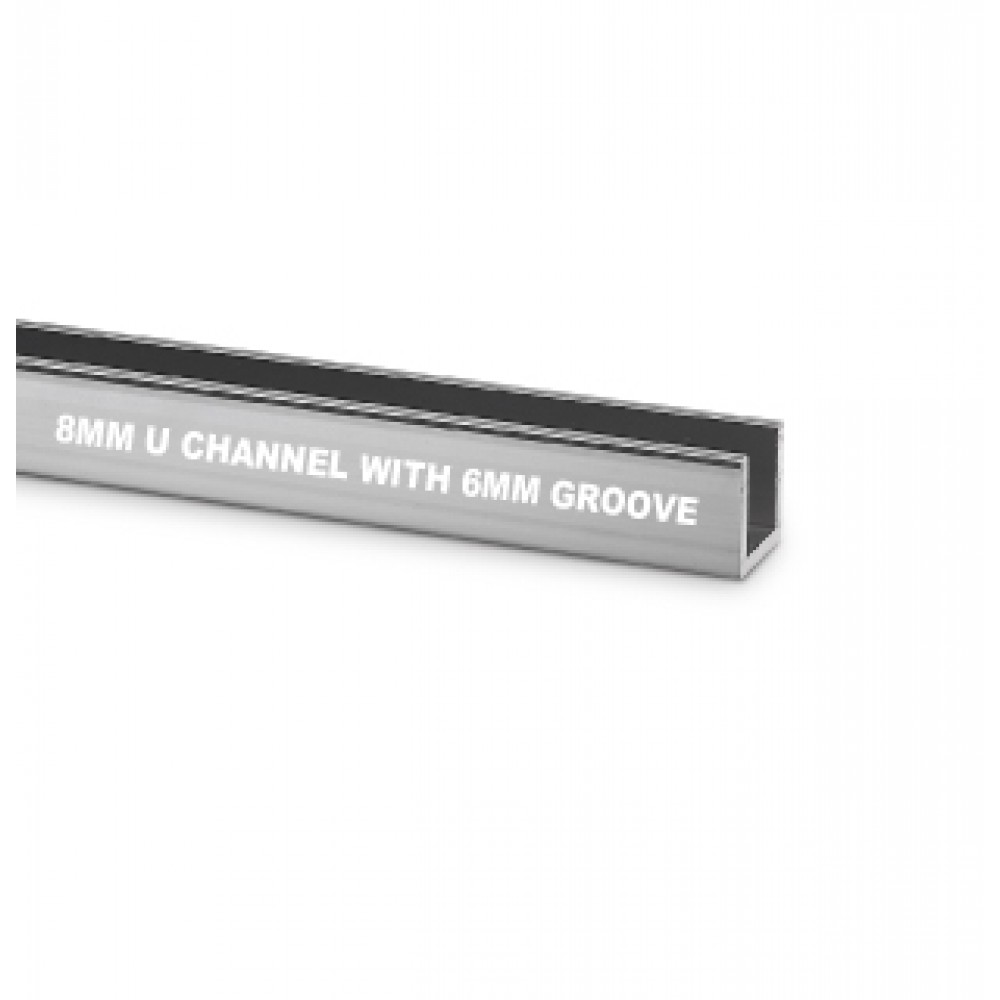 8mm U Channel With 6mm Groove