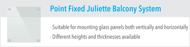 Point Fixed Juliette Balcony System
