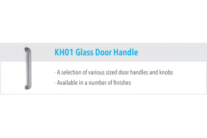KH01 Glass Door Handles