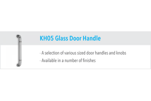 KH05 Glass Door Handles