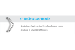 KH10 Glass Door Handles