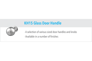 KH15 Glass Door Handles