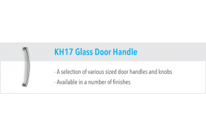 KH17 Glass Door Handles