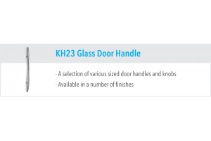 KH23 Glass Door Handles