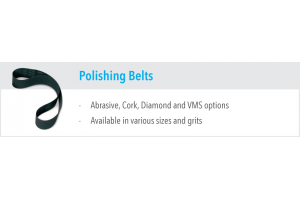 Abrasive, Cork, Diamond & VMS Belts