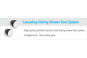 Cascade Sliding Shower Door System