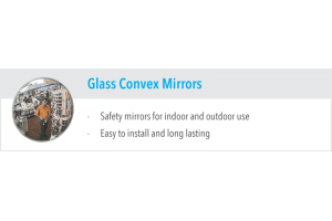 Glass Convex Mirrors