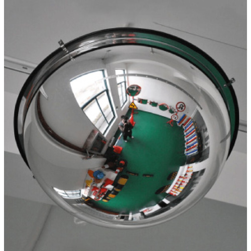 Hemisphere Type Security Mirrors