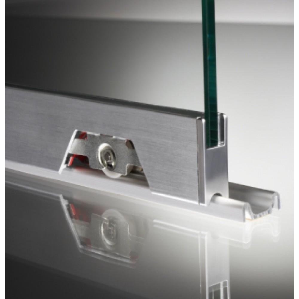 Sliding Track For Glass Cabinet or Hatch Doors