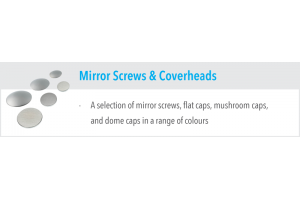 Mirror Screws & Coverheads