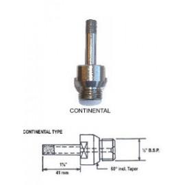 3mm Diamond Continental Fit Sintered Drill Bit