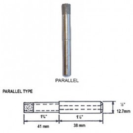 3mm Diamond Parallel Fit Electroplated Drill Bit