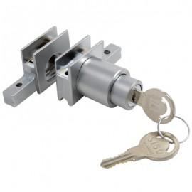 Vitrine Alum. Sliding Track Lock & Receiver