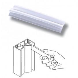 Vitrine PVC Bumper Frame Profile