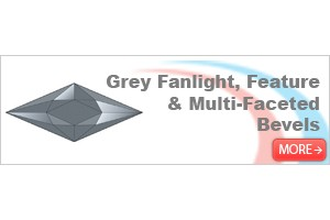 Grey Fanlight, Feature & Multi-faceted Bevels