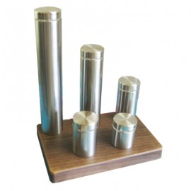 Stainless Steel Standoff/Sign Fixing 50mm High x 30mm Dia