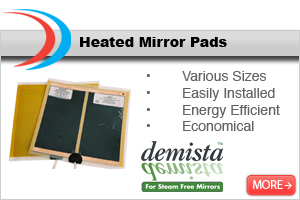 Demista Heated Mirror Pads