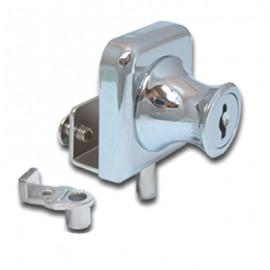Non Drill Single Swing Lock Chrome - Pin Type