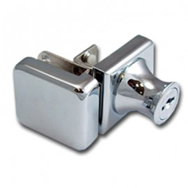 Non Drill Single Swing Lock & Receiver - 90 Deg