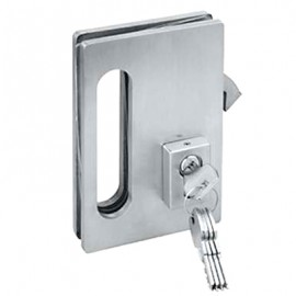Bi-Fold lock and Wall Receiver
