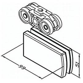 Bi-Fold Top End Anchor Pivot