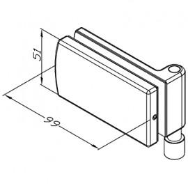 Bi-Fold Bottom End Anchor Pivot