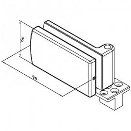 Bi-Fold Bottom Anchor Mount
