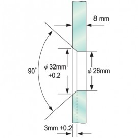 Single Point Fitting - Countersunk