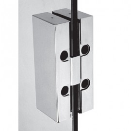 Double Sided Non Drill Strike Box - Satin Stainless