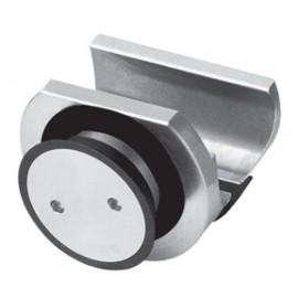 Sliding Door Rail Holder To Glass - Countersunk Type