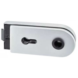 Level Lock - Lockable - Aluminium Matt Silver