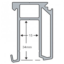 Fixed Pane Side Channel