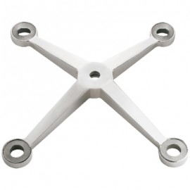 304 SS Four Way Spider Bracket With Glass Bolts