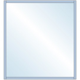 Wall Profile System 12mm Glass 3M SS