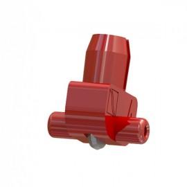 Wheel Holder 155 deg Red (Plastic Axle) 8-15mm Glass