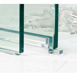 Transparent Flat Packers 10 x 6 x 50mm