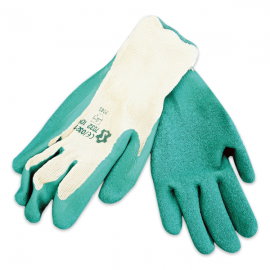 Green Showa Type Latex Gloves