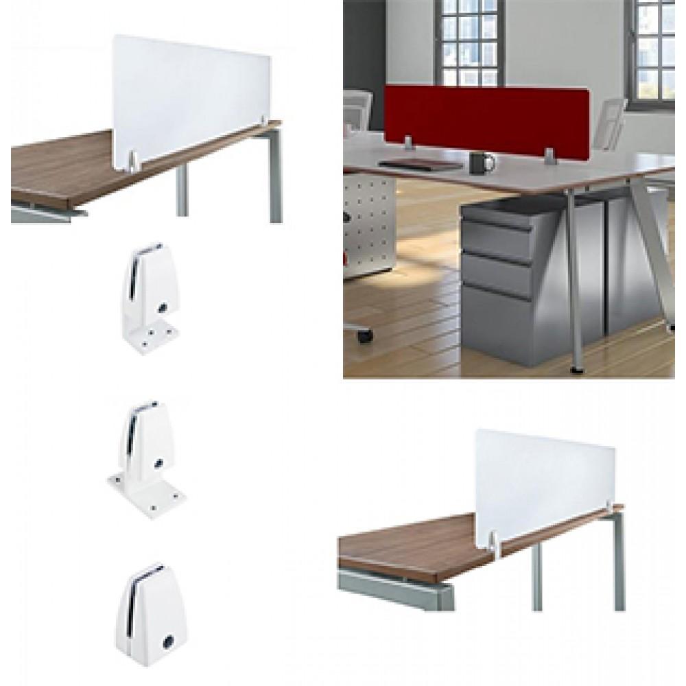Desk Partition Clamps