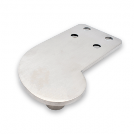 Offset Top Pivot For Use With Right Side Pivot Hinge - SS