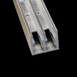 Glass Door Rail Wheeled Bottom Track