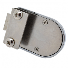 Non Drill Glass Door Lock C/P