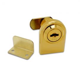 Single Door Lock Gold