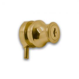 Cylinder Lock Gold
