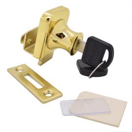 Non Drill Single Swing Lock Gold