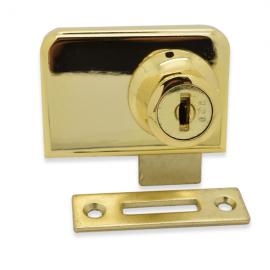 Non Drill Double Swing Lock Gold