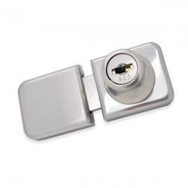 UV Lock & Receiver For Double Door - PC